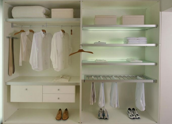 comprando ahora más baratas nueva apariencia Vestir armarios para aprovechar su espacio | HOMEPPY
