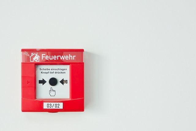 Pulsador de alarma de incendio