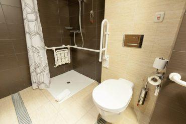 ducha accesible