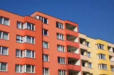 Temperatura bloque de edificios