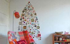 Crea un original árbol de Navidad