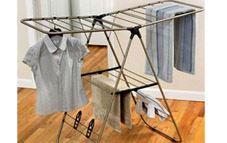 Cómo secar la ropa en el interior de un hogar