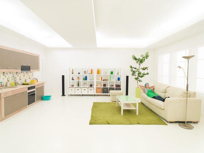 Limpieza de piso con Assista Home