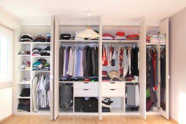 Tener un vestidor en casa