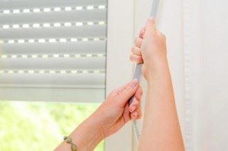 arreglar las persianas descolgadas
