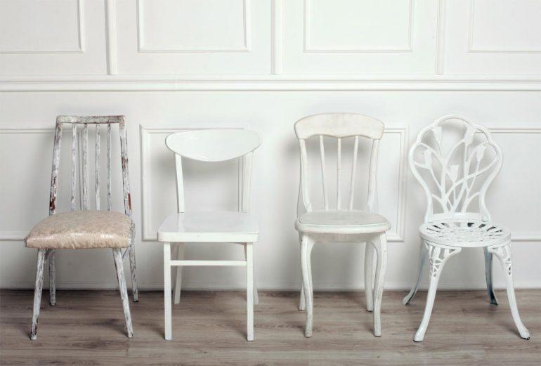 recicla las sillas viejas