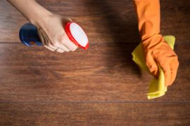 limpieza de parquet servicio Assista Home