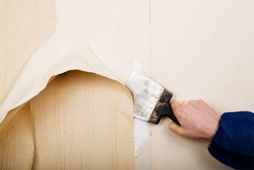 quitar papel pintado