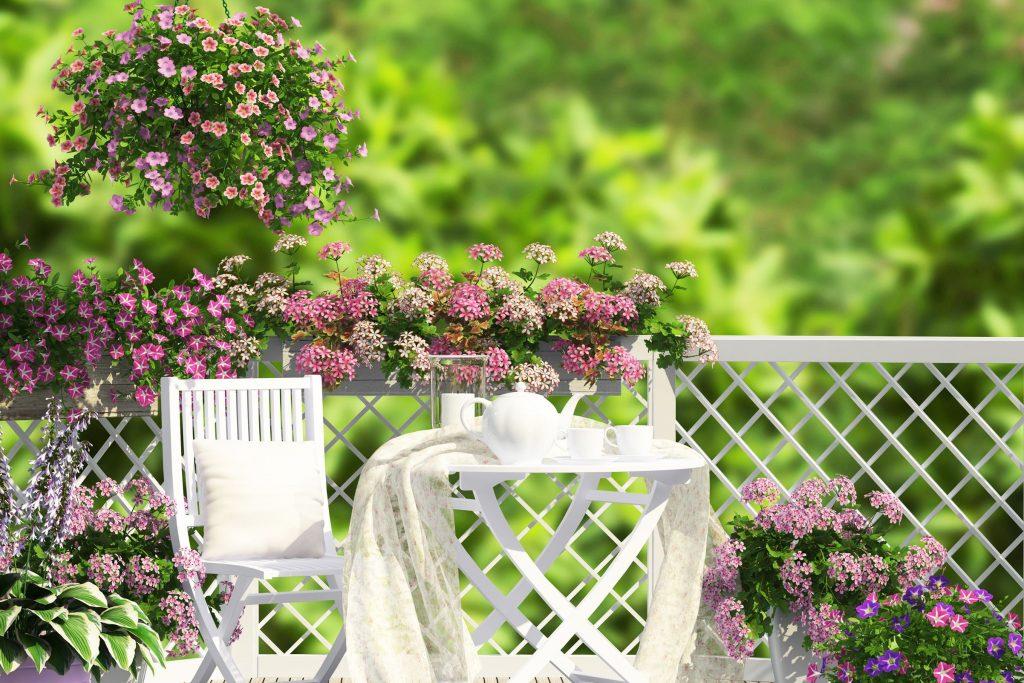 mobiliario de jardin