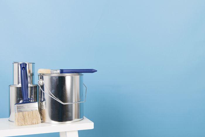 Pintar tu habitación paredes de color azul