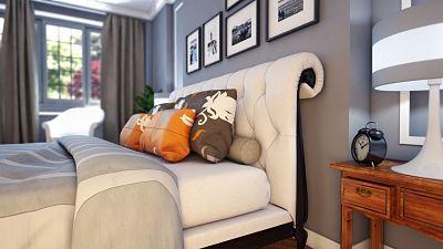 Combinación de gris para pintar habitación