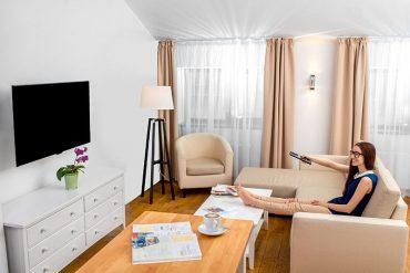 Salón pequeño, muebles