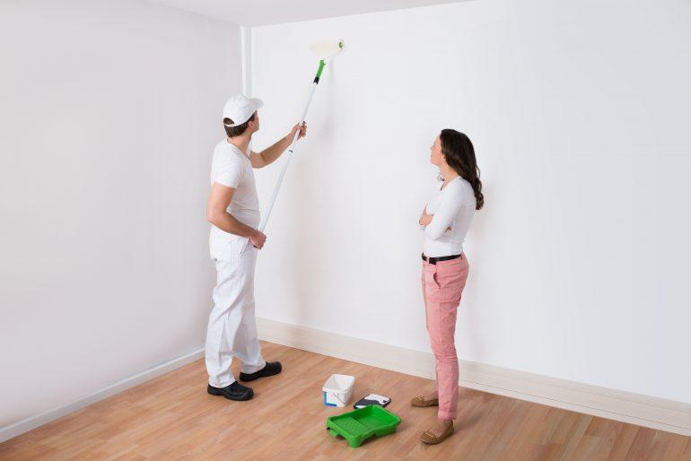 Pintar el salón comedor