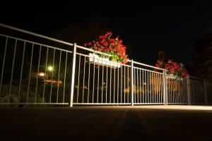 iluminar balcón o terraza