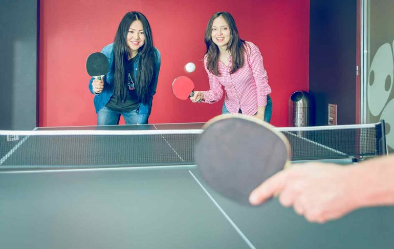 montar una mesa de ping pong