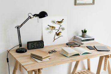 escritorio en orden