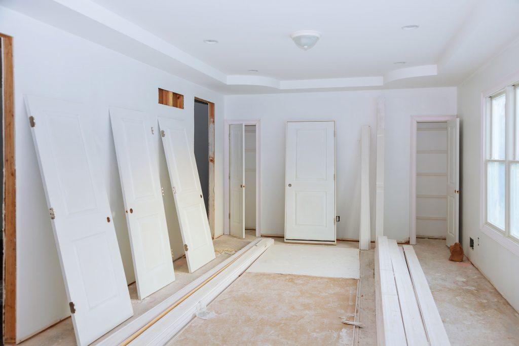 Reforma en casa, cambiar puertas