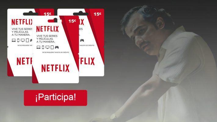 sorteo tarjetas Netflix