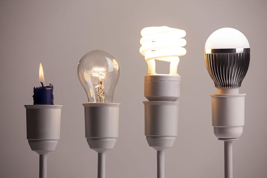 Iluminación bombillas