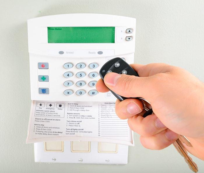 sistema de alarma inalámbrica