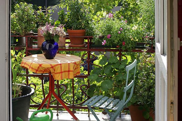 ideas para terraza pequeña